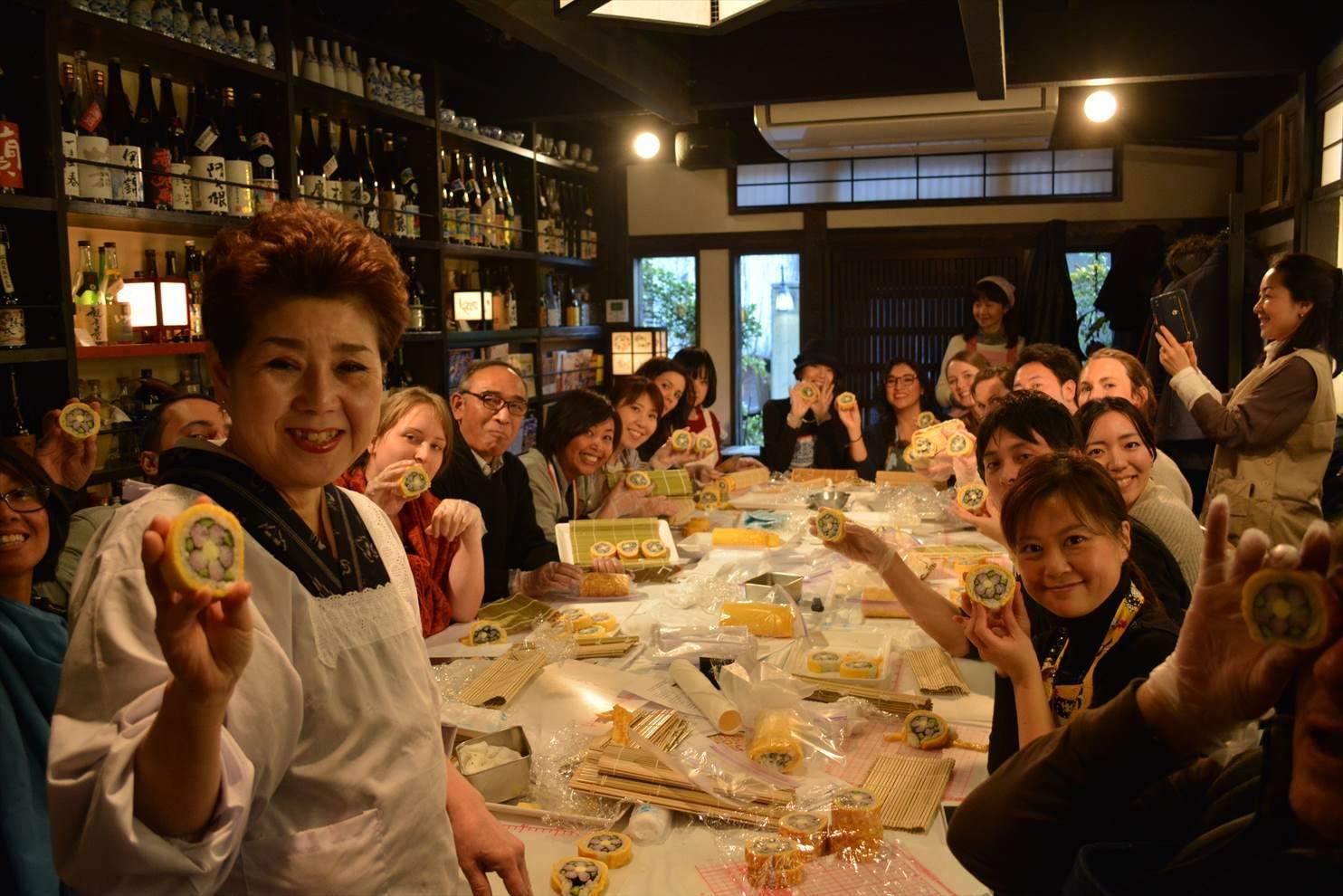 chizue futomaki japanese traditional sushi