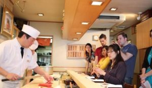 about japanize- sushi Ginza Tokyo